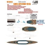 SMS LŸtzow  Battlecruiser For Flyhawk 1301 / 1301S
