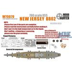 WWII USS New Jersey BB62