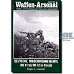 Deutsche Maschinengewehre MG 01 bis MG 42 im Einsa