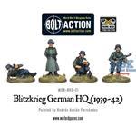 Bolt Action: Blitzkrieg German HQ (1939-42)