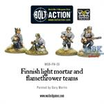 Bolt Action: Finnish light mortar and flamethrower