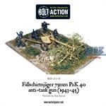Bolt Action: Fallschirmjager 75mm PaK 40 (1943-45)