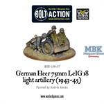 Bolt Action: German Heer 7.5cm leIG 18 (1943-45)