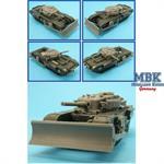 CHURCHILL AVRE Mk-VII Tankdozer