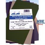 Fine assorted Sanding Film - Schleifpapier