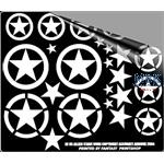 WW2 ALLIED STARS VARIOUS SIZES