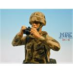 Modern UK INFANTRYMAN in NBC SUIT with CAMERA