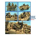 Modern UK Jackal-2/Coyote Crew Set (4 Figures F63,