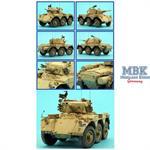 SALADIN 6x6 Armoured Car