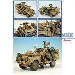 LAND ROVER SAS 110 DPV (Op'Telic) gpmg + 40mm M19