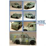 LAND ROVER HOTSPUR RUC Armoured Land Rover *D*