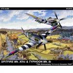 Spitfire MK 14C & Typhoon MK IB