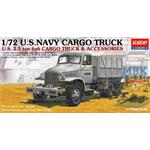 U.S. Navy 2 1/2 ton 6x6 CARGO TRUCK