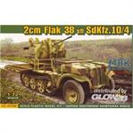 2cm Flak 38 Sfl auf Sd.Kfz. 10/4