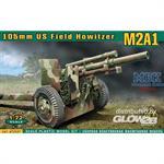 M2A1 105mm U.S. field howitzer