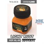 Light Rust Effect Enamelwash