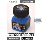 Vibrant Blue Filter Enamelwash