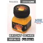Bright Ochre Filter Enamelwash