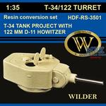 T-34/122 Tank Turret Project w/ 122mm D-11 Howitze