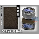 Dark Russian Earth, Fine Texturing