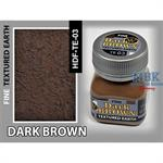 Dark Brown Earth, Fine Texturing