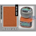 Red Desert Earth, Fine Texturing