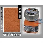 Red Desert Earth, Stony Texturing