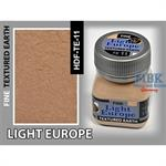 Light Europe Earth, Fine Texturing
