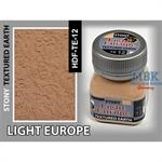 Light Europe Earth, Stony Texturing
