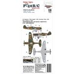 Flying Tigers P40B/C Hawk-81A2 1:144