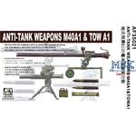 Anti Tank Weapons M40A1 & TOW A1
