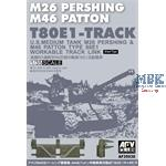 T80E1 Workable Track for M26 Pershing/M46 Patton