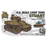 U.S. M3A3 Stuart Light Tank
