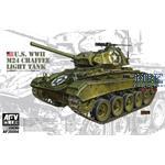 WWII M24 Chaffee Light Tank