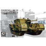 Churchill Mk.III British Infantry Tank