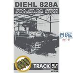 Bundeswehr Marder Einzelgliedketten Diehl 828A