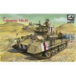 British Infantry Tank Mk.III Valentine Mk.II