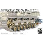 Suspension & Wheels for Hummel/Nashorn