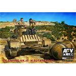 Valentine Mk.III w/Rotatrailer