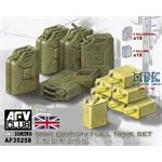 WWII British Fuel Tank Set