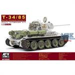 T-34/85 Factory 174 Full interior Kit (LIMITED)