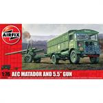 AEC Matador & 5.5inch Gun