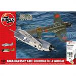 Dogfight Double B5N Kate / Wildcat F4F-4 Set