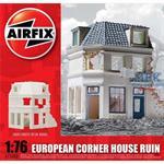 European Corner House Ruin 1:76