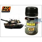 Wash for NATO Tanks