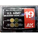 REAL COLORS: U.S.ARMY MODERN VEHICLES SET