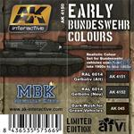 Early Bundeswehr Colours Limited Edition MBK