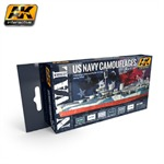 US NAVY Camouflages Acrylic Set