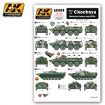 War in Chechnya - Russian Tanks and AFVs