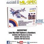 Late War RAF Fighter & Bombers 3x30 ml